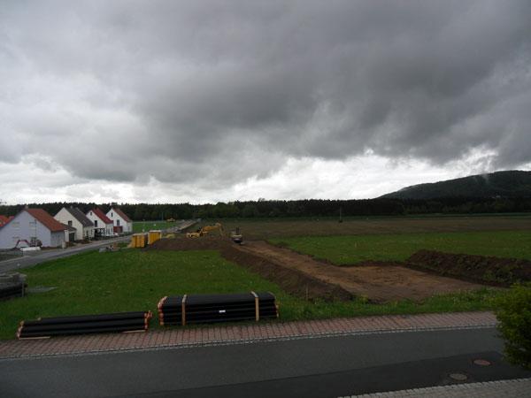Neubaugebiet in Sengenthal, Gemeinde Sengenthal, Landkreis Neumarkt i. d. OPf.