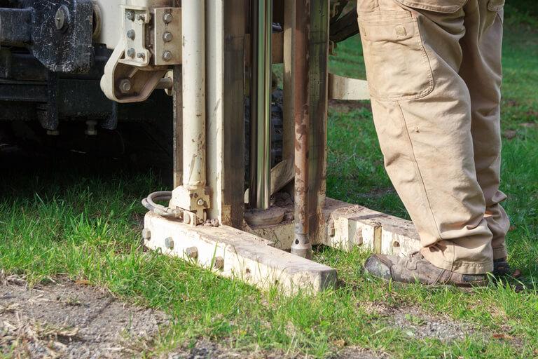 Rammsondierung - Baugrunduntersuchung